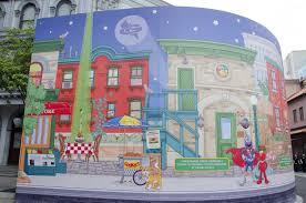 sesame street wall mural u2013 wall murals ideas
