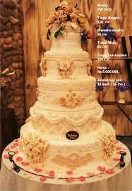wedding cake pelangi wedding cake 5 tiers by pelangi cake bridestory