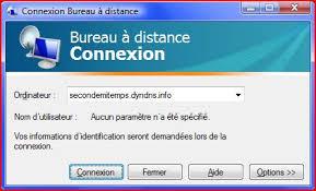 port connexion bureau à distance connexion bureau a distance xp ou vista