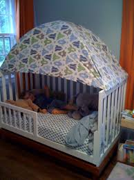Crib Tent For Convertible Cribs Http Dropdeadcute Typepad Drop Dead Cute 2010 07 Toddler Bed