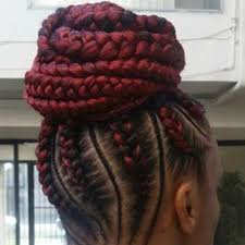 red cornrow braided hair 50 enchanting ideas for ghana braids hair motive hair motive