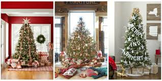 ideas to decorate christmas trees home interior ekterior ideas