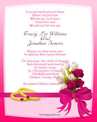 wedding wishes biblical christian wedding invitation wording sles wordings and messages