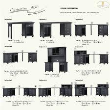 hanna 6 piece corner desk in white or black finish by homelegance