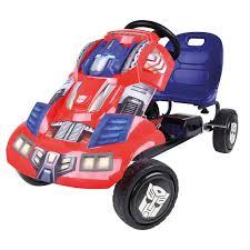 optimus prime birthday hauck transformers optimus prime ride on pedal go kart