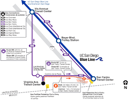 Mesa College Map Virginia Avenue Transit Center San Diego Metropolitan Transit System