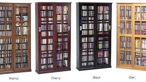glass door cabinet walmart dvd storage book sliding glass door storage cabinet new stylish with