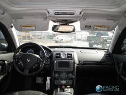 maserati quattroporte 2003 rear right door upper lower outer window trim maserati