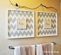 Diy Ideas For Bathroom Bathroom Decor Wall Art Ideas