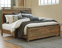 signature design by ashley sommerford queen panel bed made with