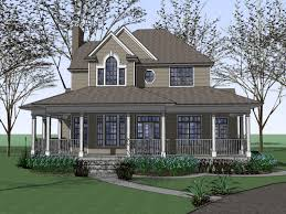 collection two story houses with wrap around porches pictures