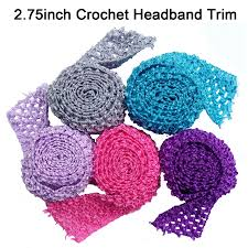 crochet band tutu bands stretchy 2 75inch wide crochet elastic waistband by the