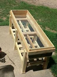 long wood planter boxes 6 of them outdoor decor pinterest ana