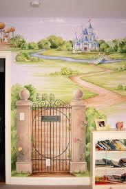 garden wall murals ideas nice landscaping of castle kids bedroom