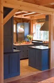 blue kitchen cabinets in cabin it log home kitchens blue kitchen cabinets kitchen