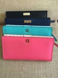 kate spade light pink wallet kate spade light blue wallet key card holder light blue and key