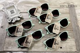sunglasses wedding favors simply susie s diy sunglass favors for your outdoor wedding