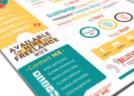 free infographic resume template for graphic designers u0026 illustrators