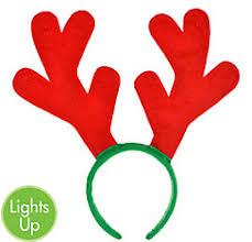 reindeer antlers headband christmas hats reindeer antlers christmas headbands party city