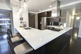 kitchen countertop without backsplash dark wood sideboard