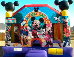 mickey mouse clubhouse bounce house bounce house rentals miami kids party rentals miami party rental