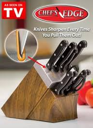 sharpening for kitchen knives chefs edge self sharpening cutlery carolwrightgifts