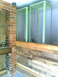 Home Decor With Wood Pallets by Shop Counter Clad With Pallet Wood U2022 1001 Pallets
