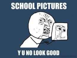 School Picture Meme - school pictures funny school meme