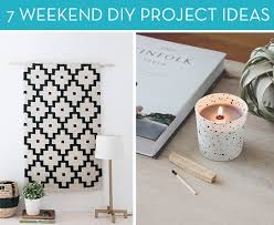 7 diy project ideas for your weekend curbly