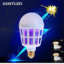 bug repellent light bulbs electronic mosquito killer night light 220v e27 led bulb 15w