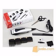 jual alat dan mesin cukur rambut perlengkapan salon alat cukur rambut elektrik jinghao 4607 hair clipper electric