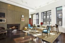 fashion designer derek lam manhattan loft interior design living