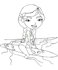 silver surfer coloring pages cool surfer coloring page free