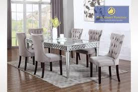 mirrored dining room set dining rooms outstanding mirrored dining