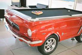 Mustang Pool Table Behind The Scenes At The Ford Motor Company Thrillist
