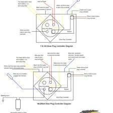 wonderful wiring diagram for glow plug relay 7 3 inspiring