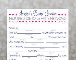 bridal mad libs bathroom basket sign wedding sign toiletries 4 x 6 5 x 7