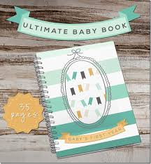 baby 1st year book ultimate baby book
