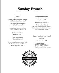 menu for brunch against the grain louisville news events