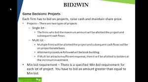 bid 2 win bid2win an introduction