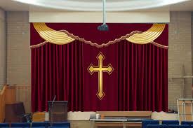 Church Curtains Church Curtains Decoration Stage Curtain Stage Decoration With
