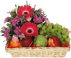 fruit flower basket flowerandballooncompany archive fruit flower