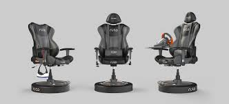 Gaming Swivel Chair Roto Vr Is A 500 Motorised Swivel Chair For Vr Gaming News Mod Db