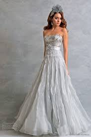 white and grey wedding dress wedding dress grey color of the dresses