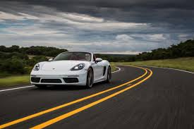 white porsche boxster bigger isn u0027t always better with the 2017 porsche 718 boxster and