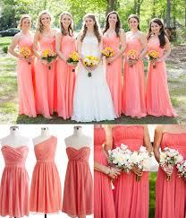 bridesmaids wedding dresses coral bridesmaids dresses oasis fashion