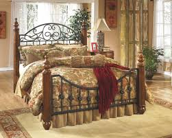 buy wyatt queen poster bed by signature design from www