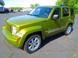 jeep liberty 2012 interior 2012 rescue green metallic jeep liberty latitude 63848372