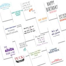 20 pack a6 birthday cards oh flora