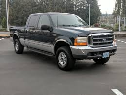 2 owner 1999 ford f250 xlt crew cab 4x4 7 3 diesel only